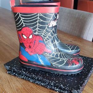 Spider men rober boots